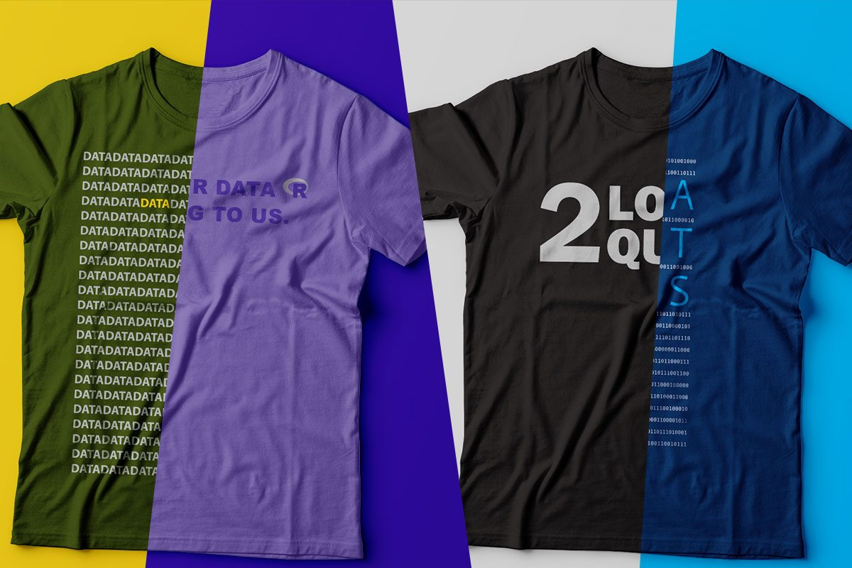 Fresh T-shirts for Data Scientists and Those Who Love Them